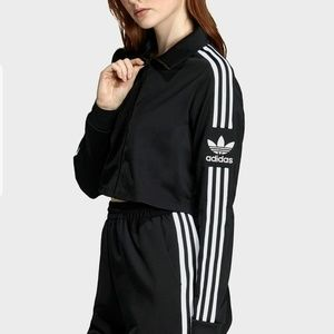 Adidas Originals 70s Three Stripe Crop Jacket